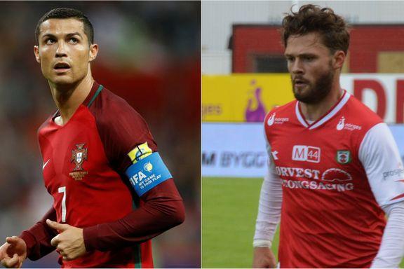Søndag spilte han på nivå tre i Norge – torsdag venter Cristiano Ronaldo