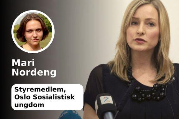 Inga Marte Thorkildsen diskrediterer ikke elevene