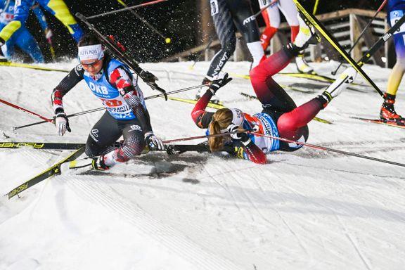 Norsk fiasko på stafetten: – Dette er vondt