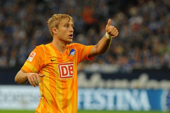 Ciljan kaptein da Hertha Berlin vant
