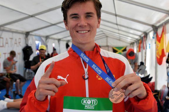 Jakob Ingebrigtsen rørte pappa Gjert med ny medaljebragd