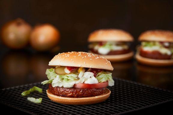 Denne nye McDonalds-burgeren består kun av plantebaserte ingredienser