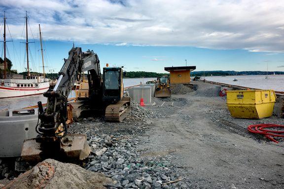 Oslo Havns bryggeprosjekt skulle vært ferdig i vår. Nå ser det slik ut - og blir mye dyrere.