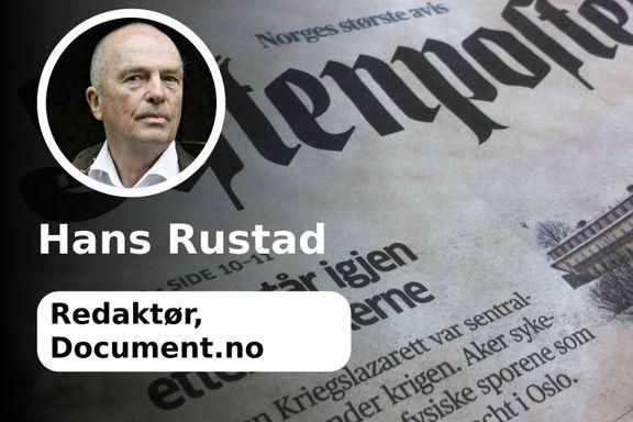 «Hvis det er noen som fortjener begrepet aksjonsgruppe, så er det Aftenposten»