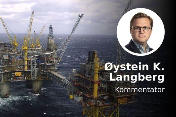 Norge dumper oljeaksjer av ren egeninteresse. Ikke for å redde verden.