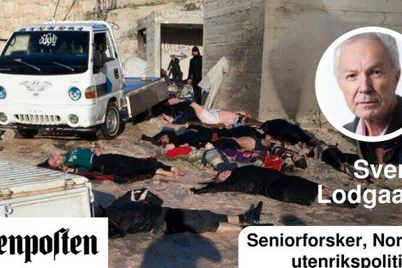 Folkeretten er i fritt fall i Syria
