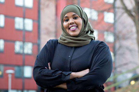 Hun var 15 år og analfabet da hun kom til Norge fra Somalia. Hun ble gift, fikk fem barn og skilte seg. Så tok hun grep.