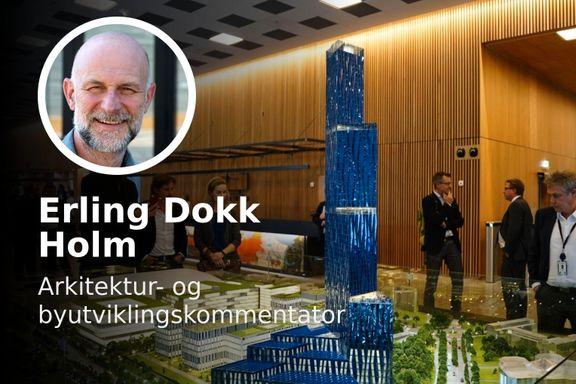 «Høyhus representer en tradisjon, da er Røkkes prosjekt både godt og interessant.»