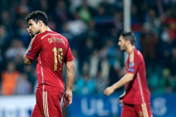 Spania med sitt første kvalik-tap på åtte år