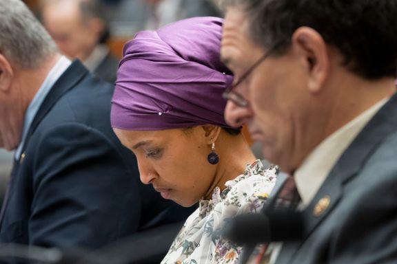Kongresskvinnen blir igjen beskyldt for antisemittisme. Republikaner kaller Ilhan Omars uttalelse en gave.