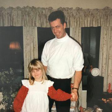 – Å få se ham føltes som julaften og bursdag samtidig. For meg var han jo ikke kriminell. For meg var han bare pappa.