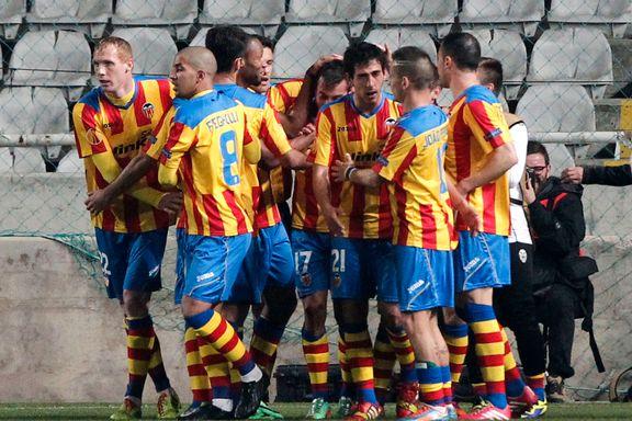 Valencia best i flyttet europaligakamp