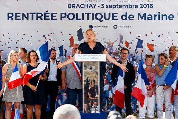 Marine Le Pen mangler millioner i valgkampkassen