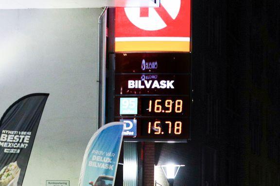 Ny prisrekord:  Nå har Norge den tredje høyeste bensinprisen i verden