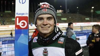Han ble best norske hopper i Engelberg: – Bare å fortsette med dette
