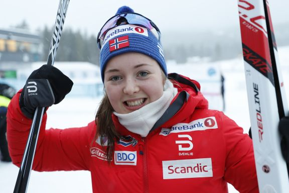 Vilde Nilsen (19) vant verdenscupen i paralangrenn