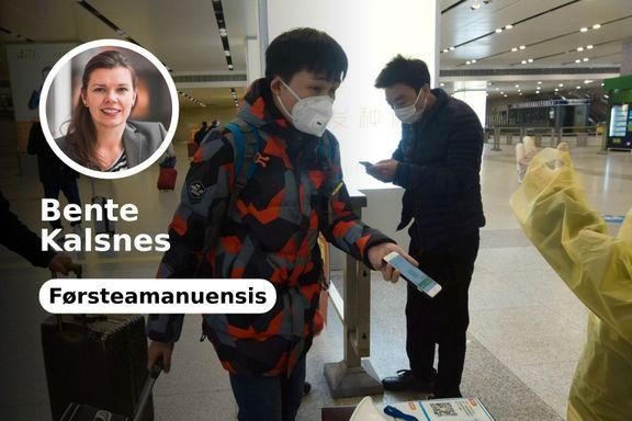Mobilapper, droner og armbånd for å stanse viruset. Norge bør være varsom med å følge Kina.