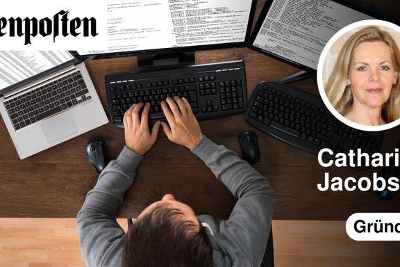 Myndighetene har lagt til rette for at domenedrittsekker skal kunne drive sin råtne virksomhet  | Catharina Jacobsen