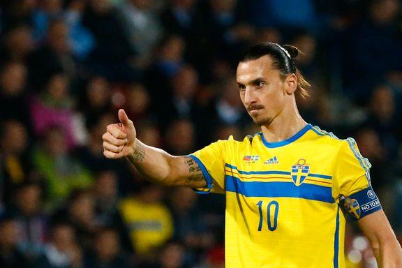 Zlatan klappet til spiller og bommet på straffe. Så scoret han