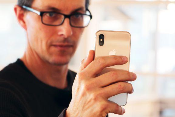 Test av Iphone X: – FaceID føles som et tilbakeskritt