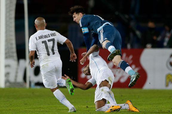 Hevder Irland-spillere ble betalt for ikke å takle Messi