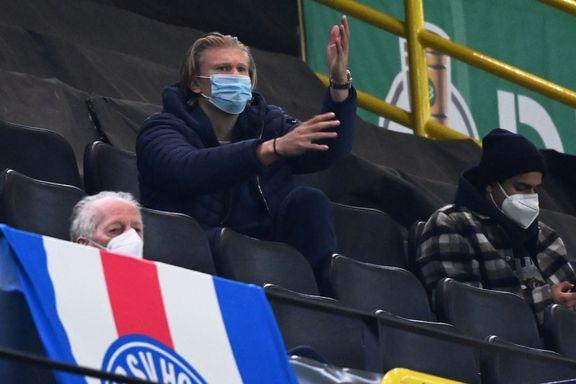 Skadet Haaland så lagkameratene herje: Dortmund klare for cupfinale