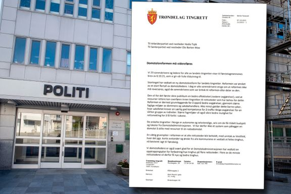 Sp vil kutte Solbergs rettsreformplan. Men nå protesterer dommerne selv.