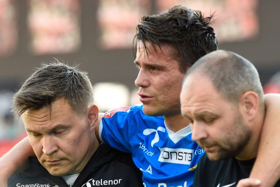 Omtåket Tromsø-kaptein måtte støttes av banen etter hodesmell