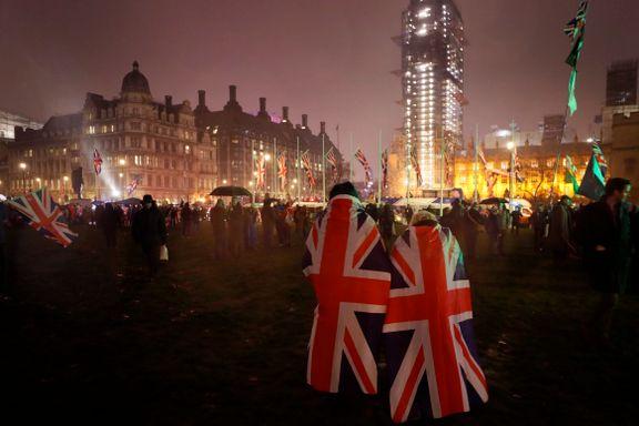 EU satte foten ned. Finansnæringen i London er ikke omfattet av brexit-avtalen.