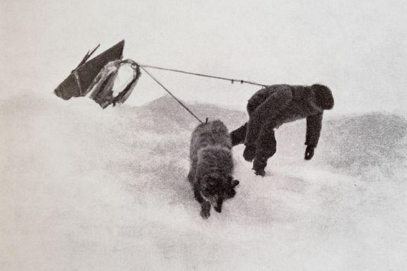 Les hans brev til moren etter å ha vært forsvunnet i isødet rundet Nordpolen med Fridtjof Nansen i halvannet år