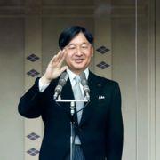 Japans nye keiser hilste folket