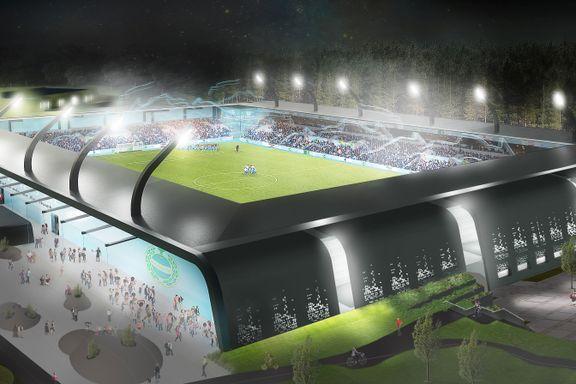 Sandnes Ulf nærmer seg ny stadion - kun én ting mangler