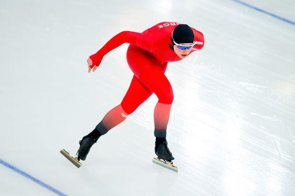 Tredjeplass for lokal skøyteløper i verdenscupen