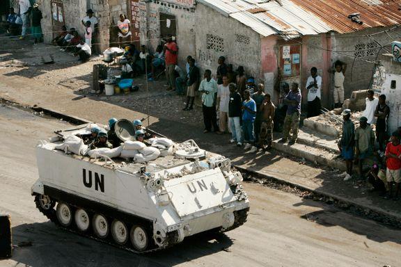 Frykter krise i Haiti