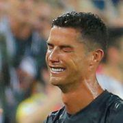Cristiano Ronaldo utvist i Champions League-debuten for Juventus
