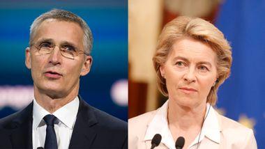 NATO-sjefen bor i herskapshus. EU-sjefen flytter på hybel.