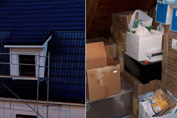 En av norgeshistoriens største dopingsaker startet med et tilfeldig tilsyn på dette loftet
