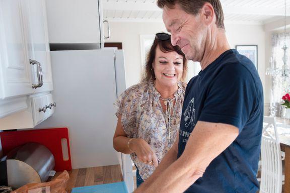 Mange sørger når barna flytter ut. Slik har Monicha Huuse og Tore Borgås klart å holde sammen.
