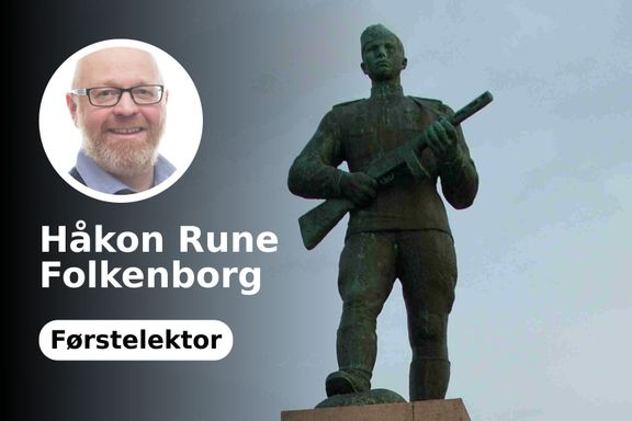 Derfor ble den tyske riksørnen fjernet fra et norsk krigsmonument