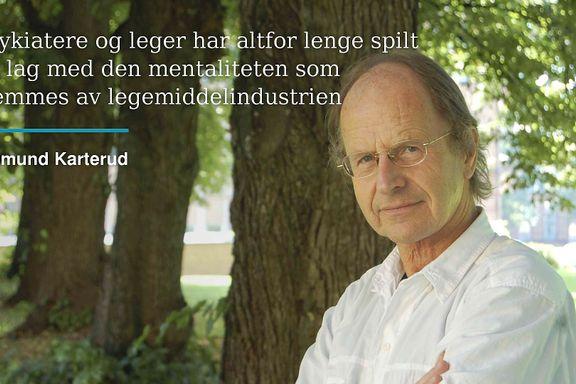 Et annerledesland også i psykiatrien   Sigmund Karterud