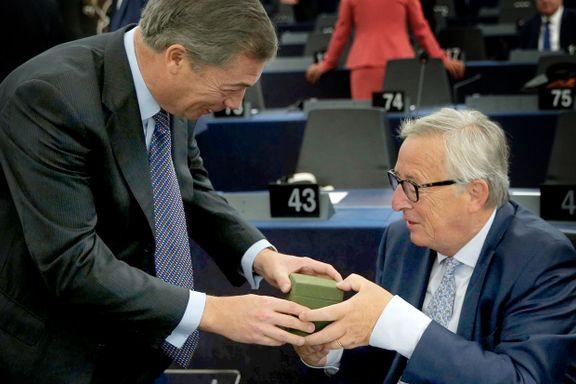 EU-sjefen lar seg ikke «bestikke» av brexit-gaver: – Britene må nå forstå at de mister privilegiene medlemsland har