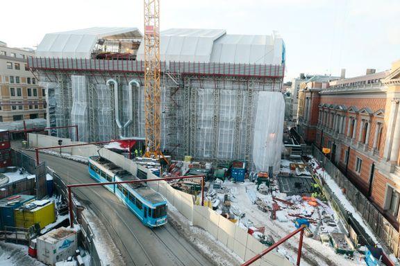 Stortingets byggeprosjekt har betalt penger til Frimurerordenen, Louis Vuitton-butikk og reisebyrå