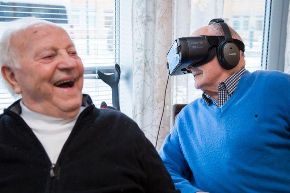 Med digitale briller kommer eldre seg «opp av sengen og ut i verden»