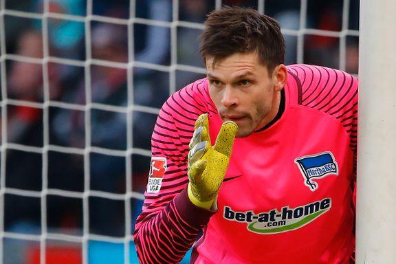Jarstein presterer bedre enn tidenes beste nordmann i Bundesliga: – Dette er gøy