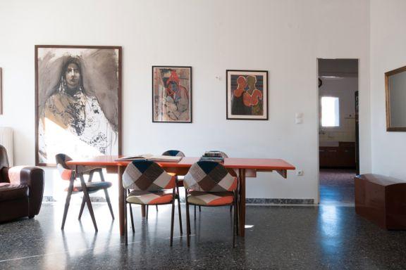 Anders Wennesland tok med kunsten og flyttet til Hellas: - Jeg falt pladask