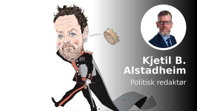 En kronprins i norsk politikk abdiserer. På vei ut legger han igjen en dyster hilsen.