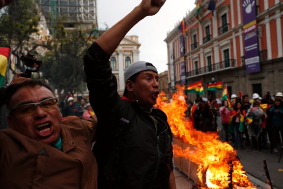 Aftenposten mener: Nedslående politisk utvikling i Bolivia