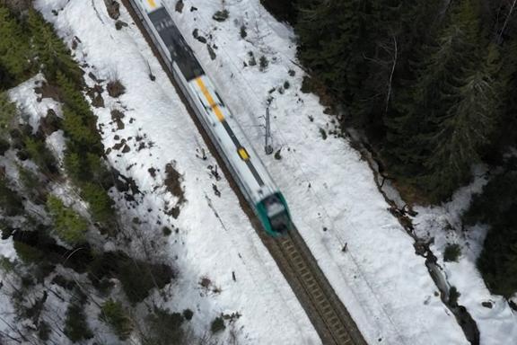 Vinterens mest dødelige togstrekning går gjennom Nordmarka