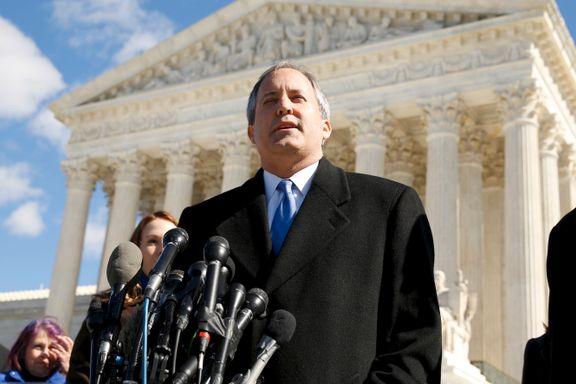 USAs høyesterett avviste krav fra Texas om å annullere valgresultat i fire delstater