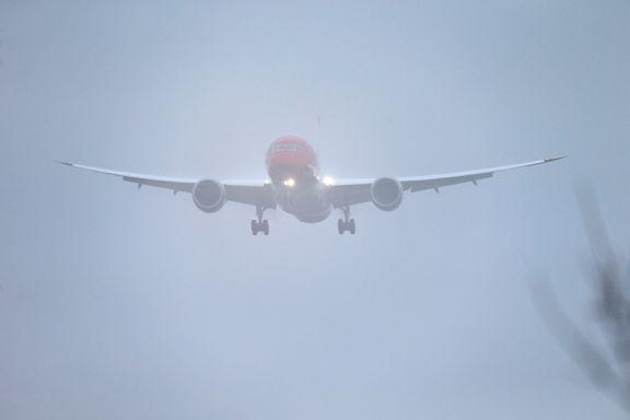 Tåke kan skape forsinkelser ved Oslo lufthavn